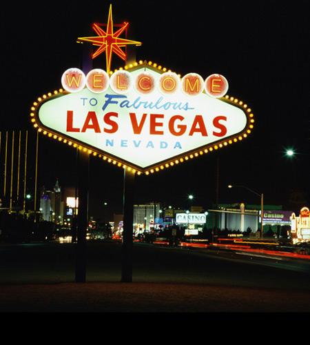 Casino Fondvägg Las Vegas
